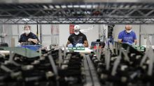 US industrial production growth slows, up 0.4% in August