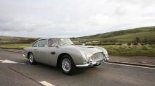 James Bond's Aston Martin DB5 sells to an espionage museum!