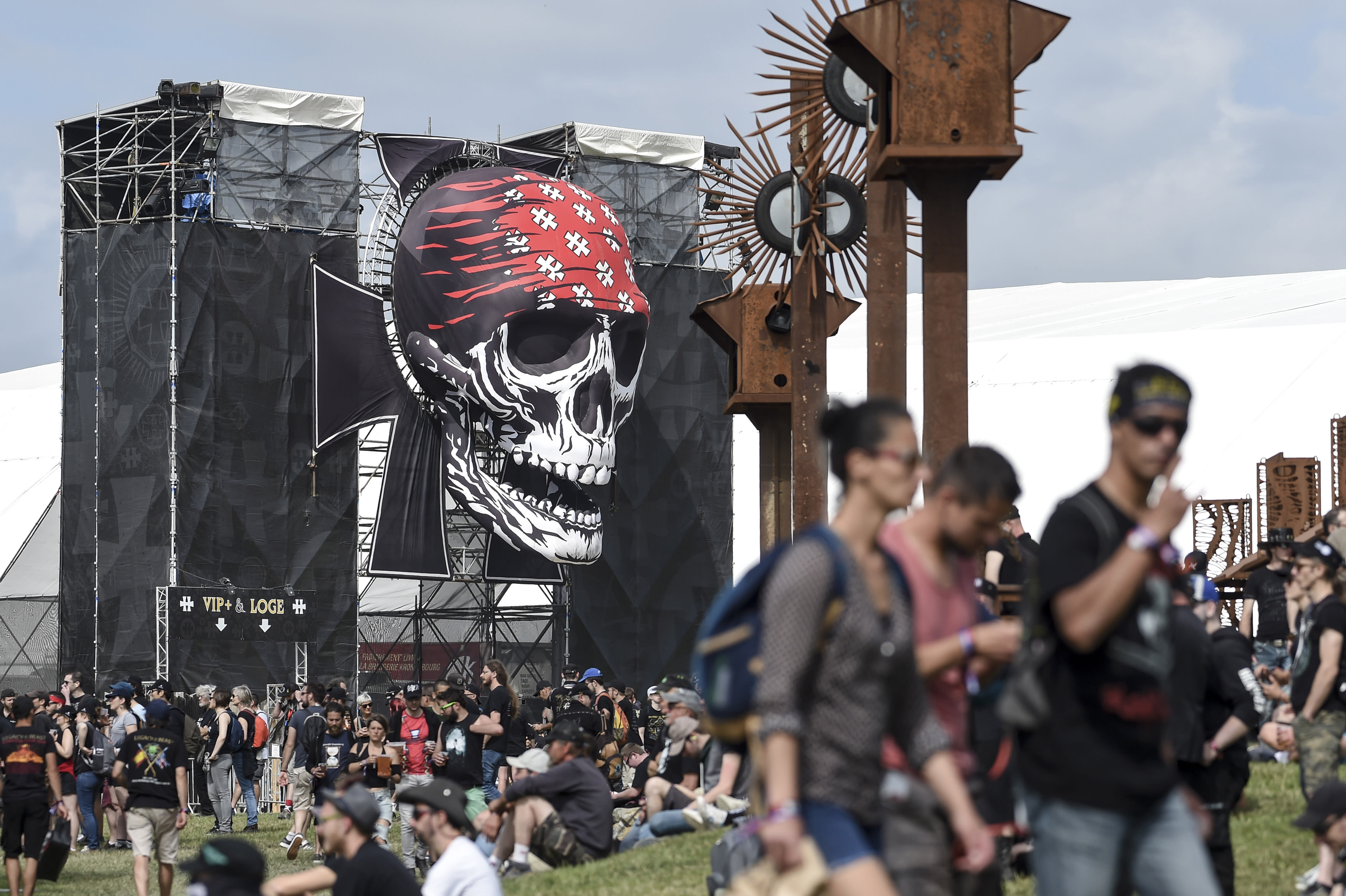 Hellfest: the sound, the fury and the twilight of rock gods Kiss