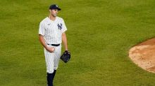Yankees reliever Heller ejected for plunking Rays' Renfroe