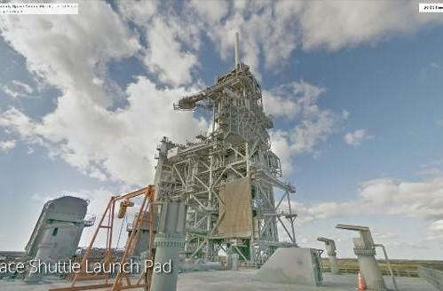 Google takes one giant leap: now lets you Street View the Kennedy Space Center