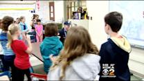 Elementary School Students Spend Time With Local Gold Medalist
