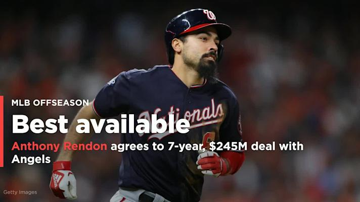 Anthony Rendon agrees to seven-year, $245M deal with Angels