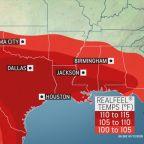 Scorching heat roasts Southwest