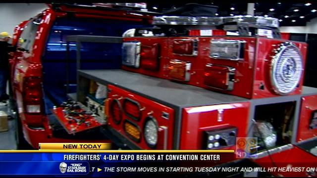 Four-day firefighting expo begins at Convention Center