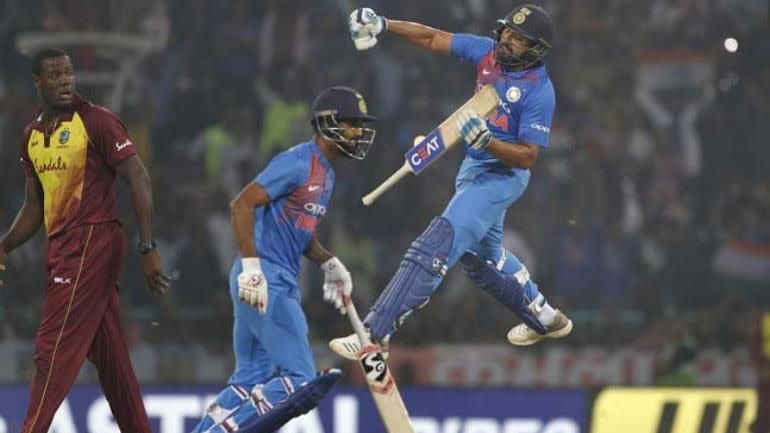 Rohit Sharma is the only cricketer to score four centuries in T20Is