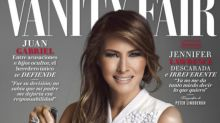 Melania Trump stars on the cover of Vanity Fair Mexico. Yes, Mexico