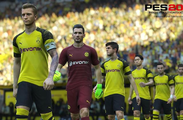 'PES 2019' loses Borussia Dortmund ahead of launch