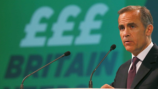 Mark Carney hints he could be close to voting for a rate hike — and the pound has taken off