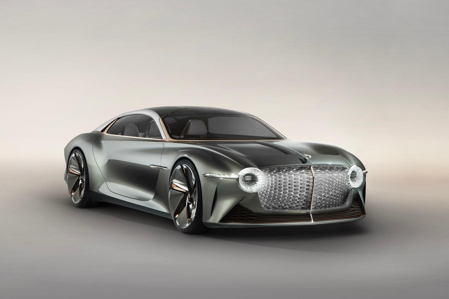 Bentley EXP 100 GT concept sports futuristic tech in a Steampunk wrapper