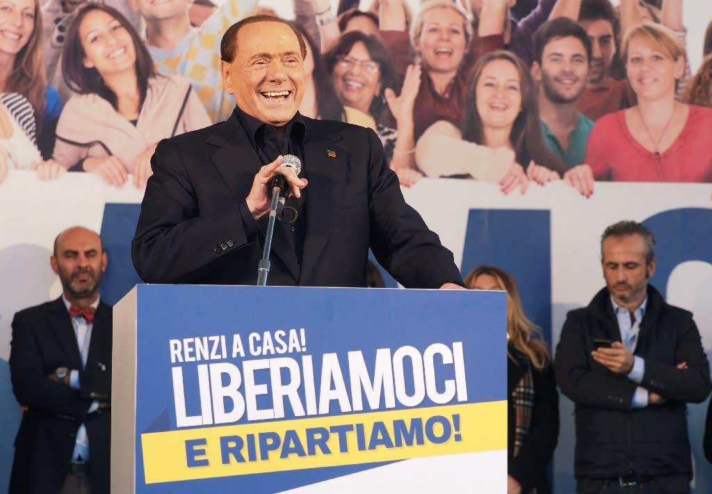 Italian convicted of supplying prostitutes to Berlusconi