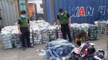 BOC seizesS P4.5M of used clothes
