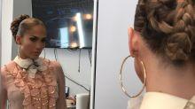 Jennifer López se roba el show con esta particular trenza; mira el peinado que se hizo