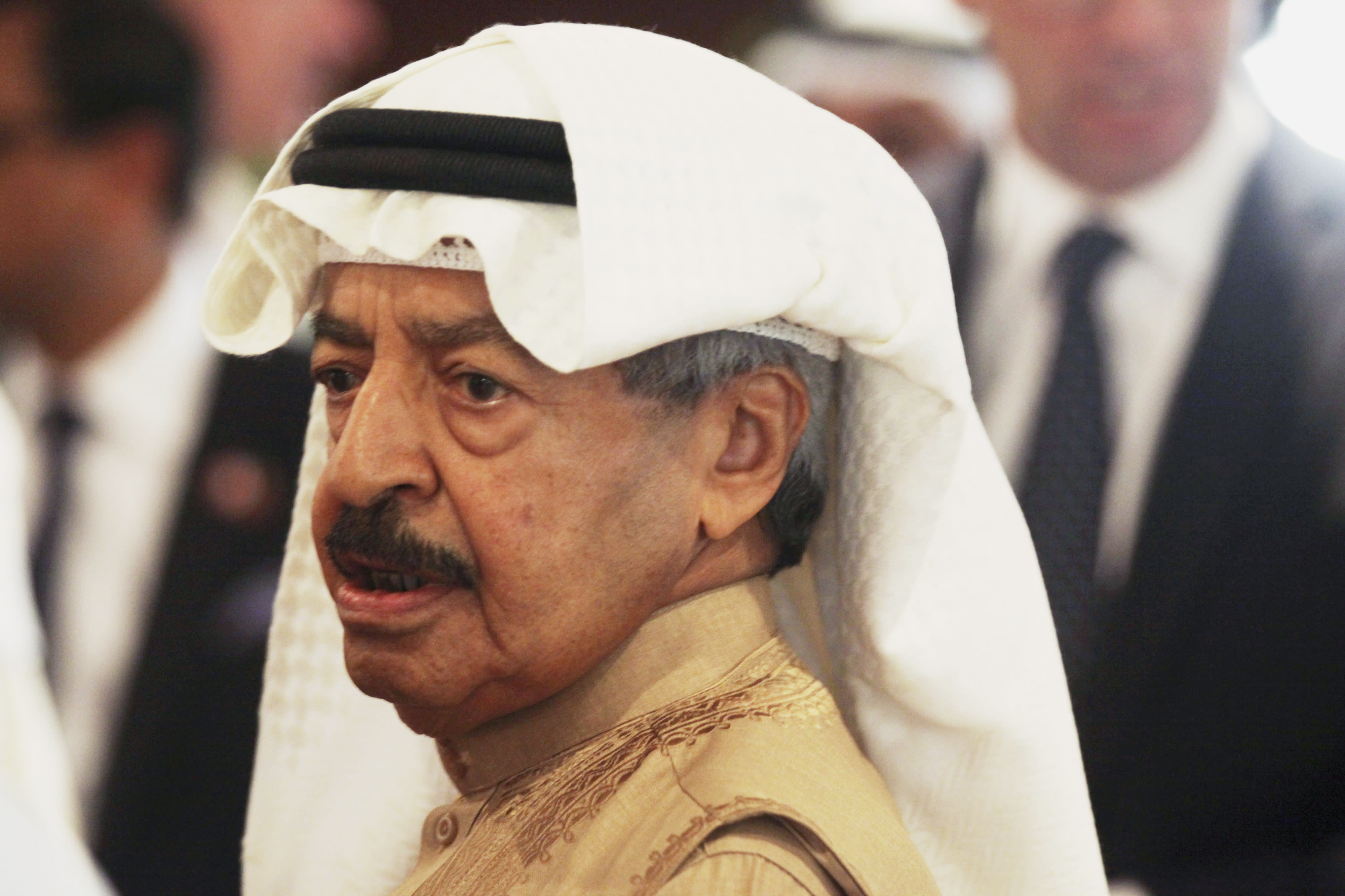 Bahrain Obit Prince Khalifa