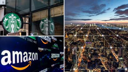 Here's 2 ways retailers like Starbucks and Amazon use blockchain