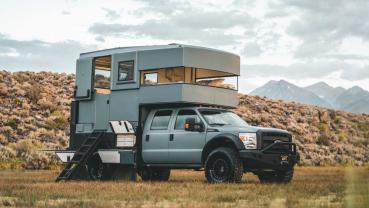 Ford F-550「Adrift」可否挑戰最完美的探險露營車之名?