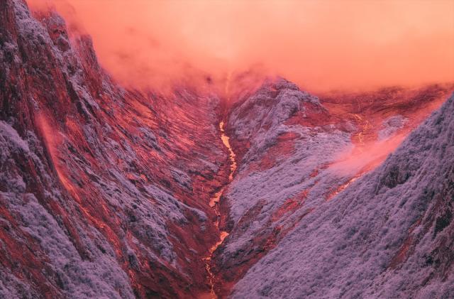 Invisible infrared light reveals a hidden Alaska