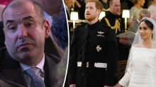Meghan's Suits co-star receives backlash for reason behind unimpressed face at royal wedding