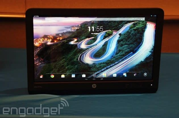HP rolls into CES with a bunch of business PCs, including an Android-powered all-in-one