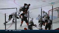 Getzlaf backhands it to Perry for goal