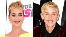 Katy Perry Awkwardly Had to Remind Ellen DeGeneres That She Was Once Married to Russell Brand