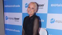 Xuxa aos 56: 'Acho bom as pessoas se acostumarem com o meu corpo enrugadinho'