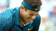 'So sad': Juan Martin del Potro injury leaves tennis world gutted