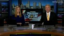 Hockey fans fired up for Frozen Four at Consol Energy Center