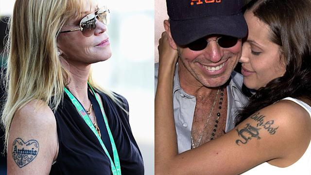 Curse of the Love Tattoo! 7 Celeb Couples Who Broke Up After Getting Inked