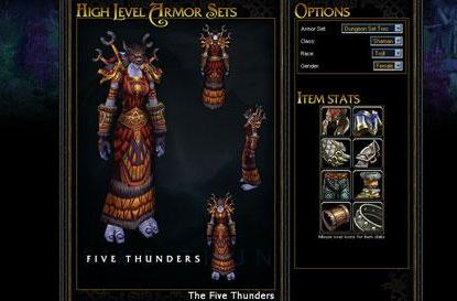 Collecting Armor Sets: Dungeon set 2