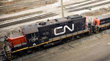 CN Rail Strike Begins, Threatening Canada Oil, Grain Shipments