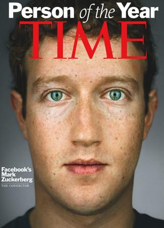 Mark Zuckerberg named Time Person of the Year, Jesse Eisenberg sadly not listed