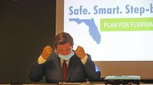 The governor's shifting message. Is it a herd immunity policy? And the Miami Herald's new owner