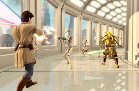 'Kinect Star Wars' details Forced out into the open