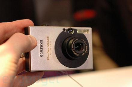 Hands-on with Canon's SD750, SD1000, A560, and A570