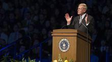 Notre Dame disassociates itself from Lou Holtz's RNC comments questioning Joe Biden's Catholic faith