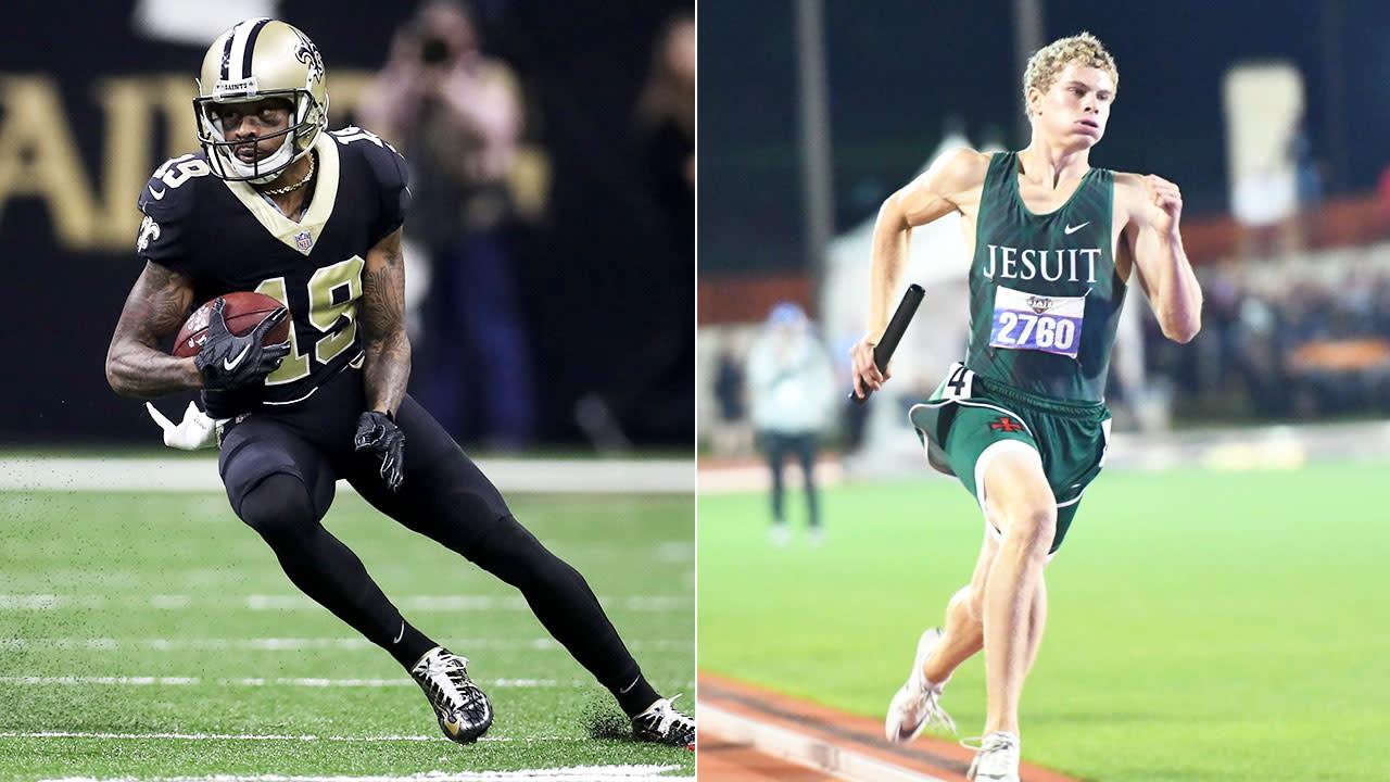 Teen sprint freak accepts NFL star's $10k challenge