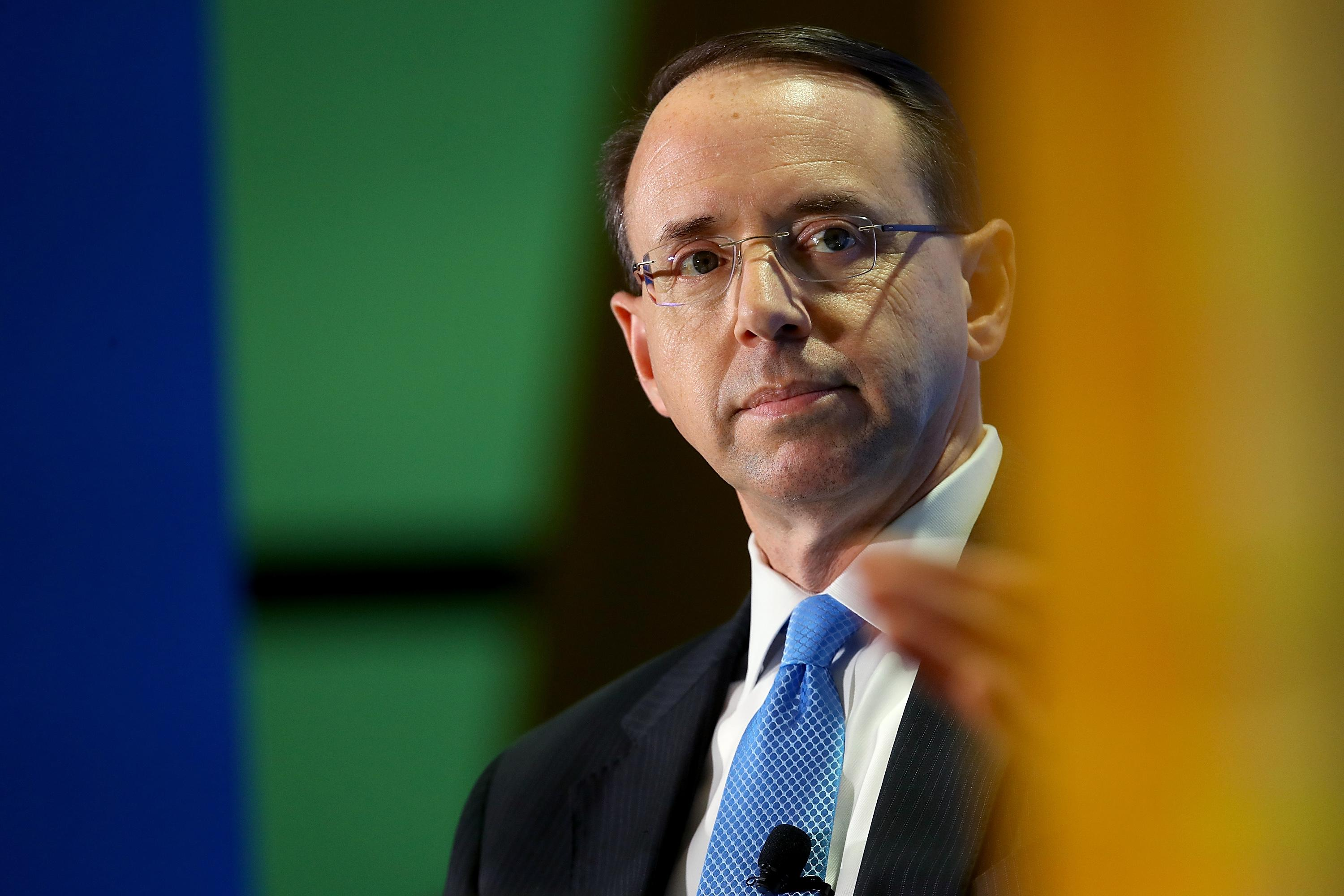 House conservatives file articles of impeachment against Deputy AG Rod Rosenstein Rosenstein oversees Special Counsel Robert Muellers investigation of