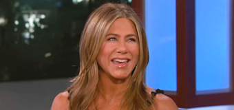 Aniston admits this isn't her first Instagram account