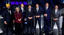 Trudeau 'doesn't have the courage' to stand up to Trump: Canada's federal party leaders duel in French debate