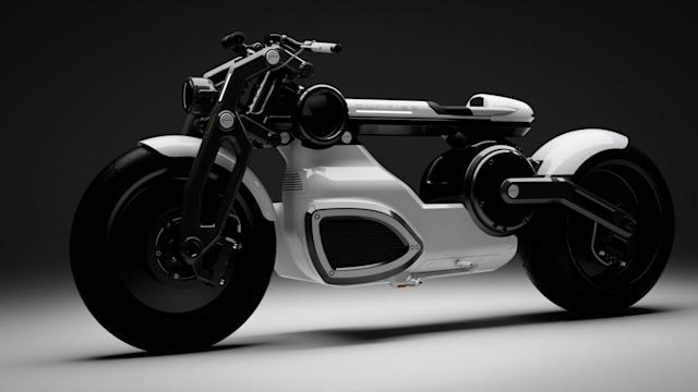 Curtiss is ready to mass-produce its 'Zeus' e-motorbikes