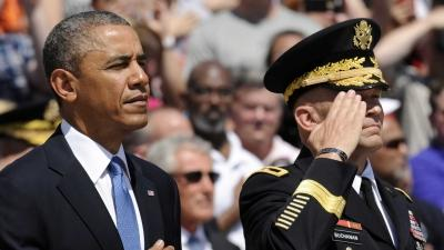 Obama Honors Fallen Soldiers at Arlington