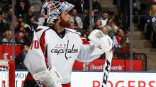 Capitals yank goalie Braden Holtby during Game 2 vs. Penguins