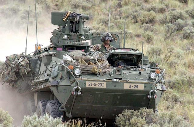 The army may have laser-equipped vehicles by 2017