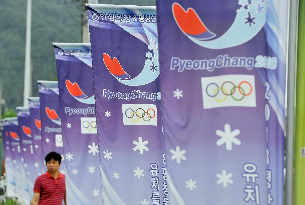 South Korea's mountain resort of Pyeongchang, due to host the 2018 Winter Olympics from February 9-25, is 80 kilometres (50 miles) from the North Korean border