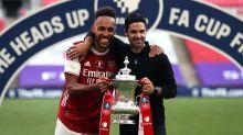 Mikel Arteta hoping FA Cup win will help keep Pierre-Emerick Aubameyang at club