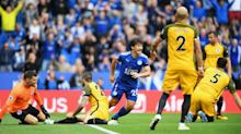 Leicester strike early then bring Seagulls down to earth
