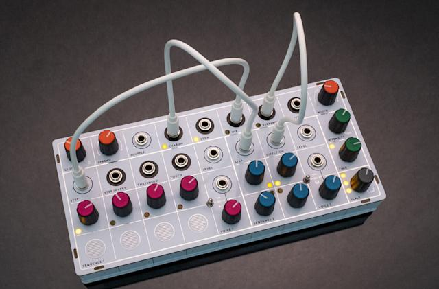 This portable, rechargeable synth focuses on the pretty side of modular