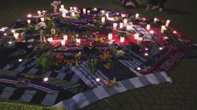 Sweden mourns football fan who died after assault