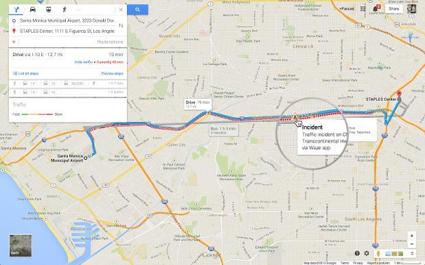Google Maps adds Waze traffic data to the desktop, brings back Pegman